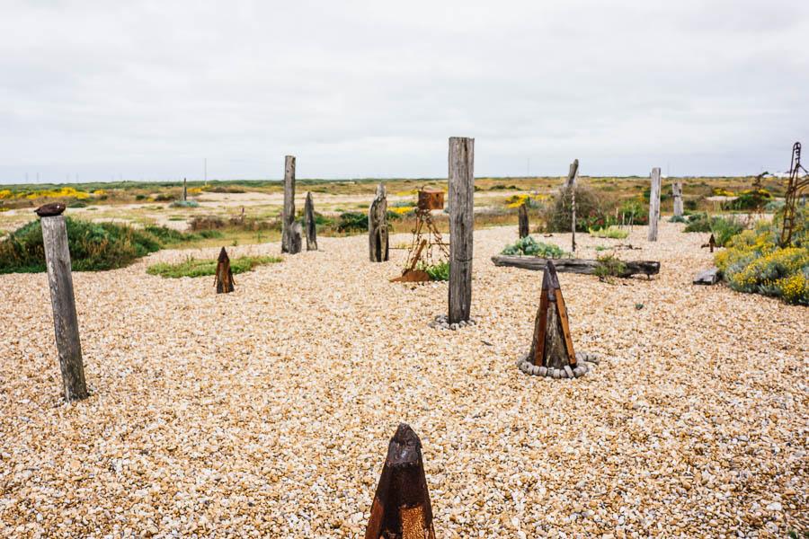 Derek-Jarmans-Garden-sculpture-garden